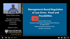 Susan Saab Fortney. Proactive regulation of lawyers.
