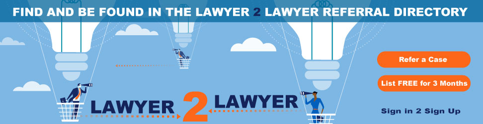 Lawyer to Lawyer Referral Directory