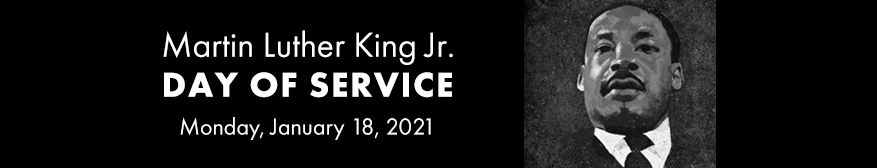 Martin Luther King Jr. Day of Service Banner