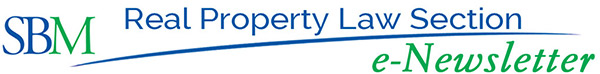 Real Property Law Section e-Newsletter