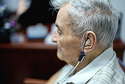 A Hearing Aid in Court